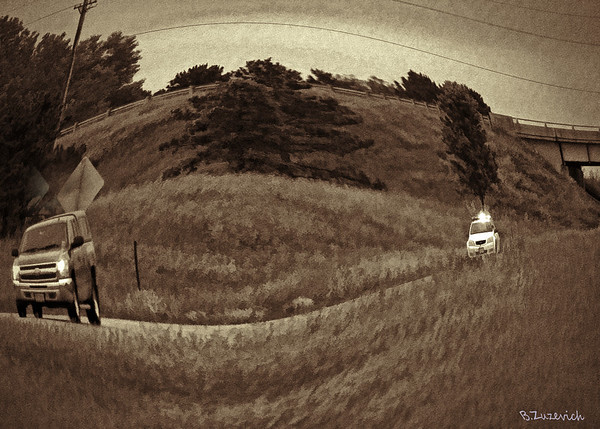 Fun With Fish Eye Lens In The Country